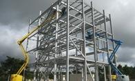 La fabrication d'une structure métallique
